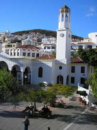 Vista desde el hotel de la Plaza de Los Cristianos