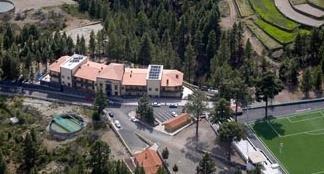 Vista del hotel y su entorno