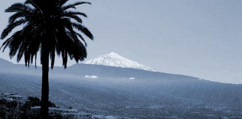Vista de la Orotava con el Teide de fondo
