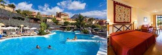Tenerife hoteles alquiler de coches traslados for Jardines del teide tenerife
