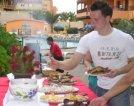 Comidas al aire libre